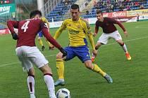 FC FASTAV Zlín – AC Sparta Praha. Lukáš Holík.