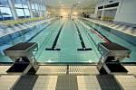 BAZÉN. Hlavní bazén má rozměry 25x10 metrů.