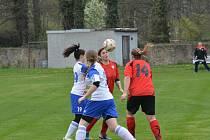 fotbal ženy Nezdenice - Brumov