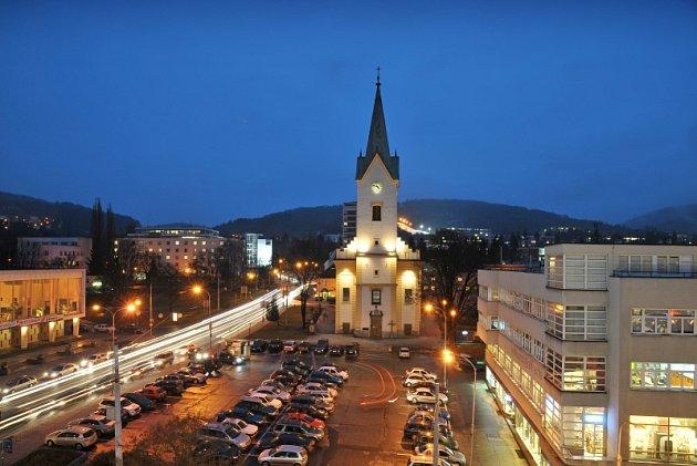 Kostel sv. Filipa a Jakuba ve Zlíně.