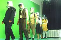 Z natáčení filmu studentů zlínského gymnázia Tři dni na Měsíci