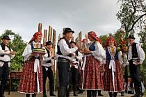 MEDOVÉ PĚNÍ. Pěvecké sbory ze Slovácka dokázaly svými písničkami zahřát diváky u srdce.