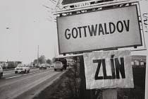 """Fotografie ve Státním okresním archivu ve Zlíně - Klečůvce: """"Když byl Zlín Gottwaldovem"""".Ilustrační foto"""