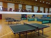 Stolní tenis - turnaj ve Slavičíně