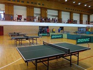 Stolně tenisový turnaj ve Slavičíně