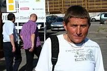 Žokej a trenér Josef Váňa.