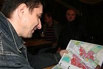 Debata nad územním plánem v Lužkovicích