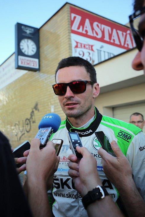 Barum Czech Rally Zlín 2019  cíl Jan Kopecký