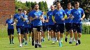 Trénink FC Fastav Zlín.