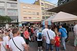 Zachraňme Baťovku - demonstrace na Náměstí Míru ve Zlíně v pondělí, 10. srpna 2020.