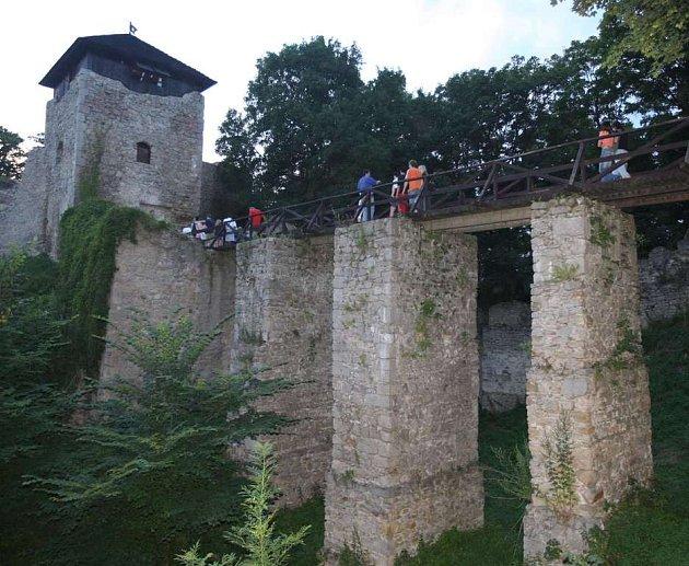Lukovský hrad.