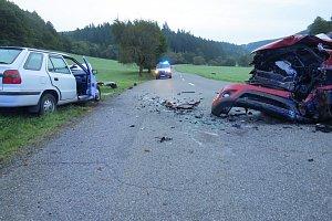 Dopravní nehoda v Ludkovicích
