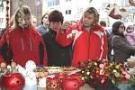 Vánoční jarmark ve Zlíně.