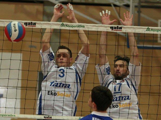 Michal Čechmánek (vlevo), Marek Tomáš. Ilustrační foto.