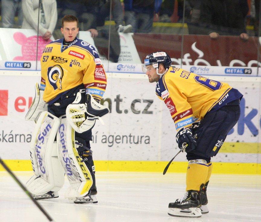 Daniel Huf v utkání s Libercem.
