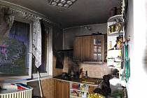 Čtyři jednotky hasičů likvidovaly požár kuchyně v Napajedlích na Zlínsku.