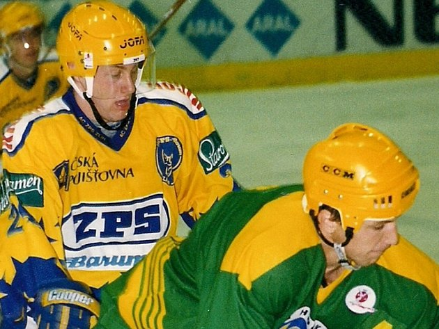 Petr Vala (ve žlutém). Ilustrační foto.