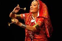 Indické tanečnice ve zlínském divadle