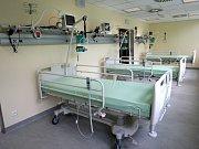 Třílůžkový pooperační pokoj v nemocnici Atlas