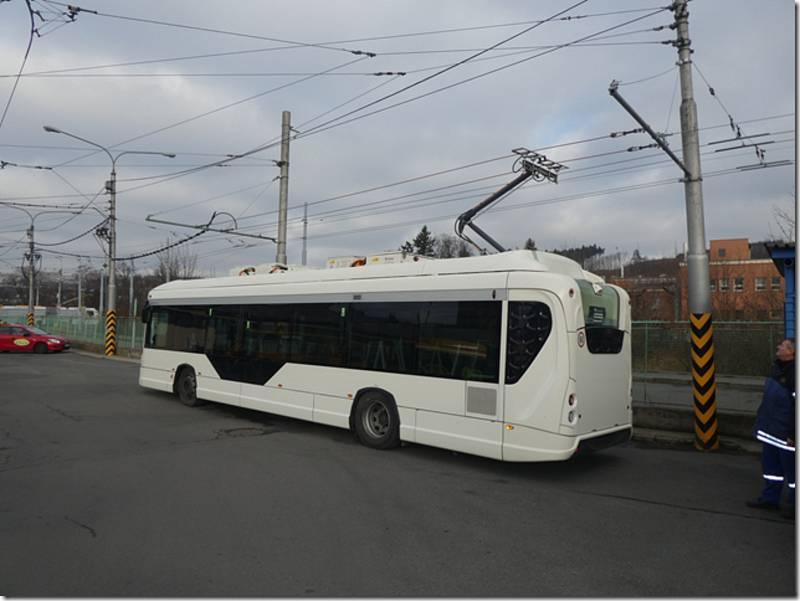 Elektrobus Škoda 34 BB.