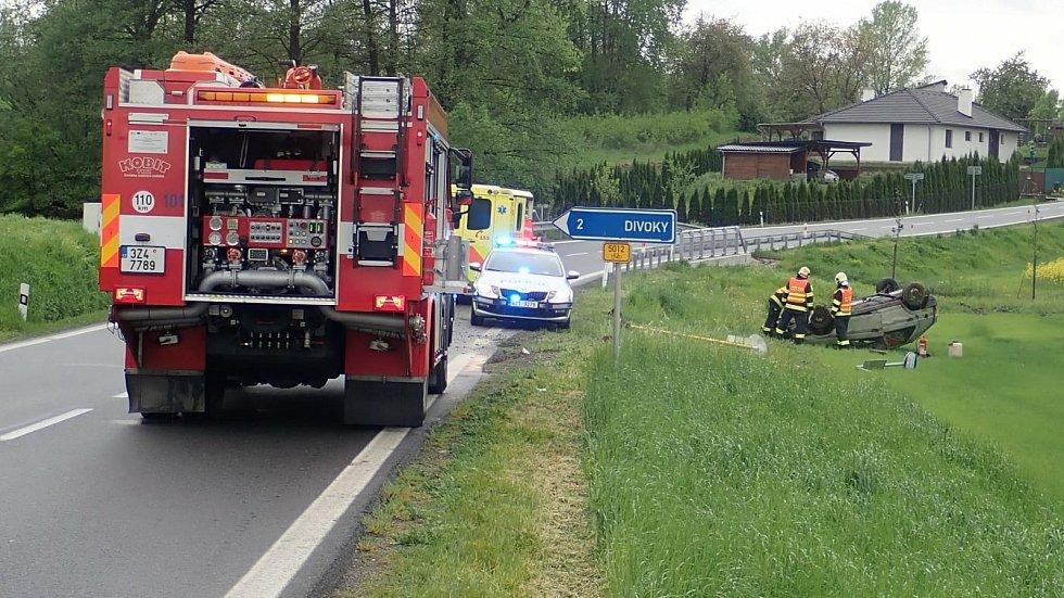 Pátek 14. května 2021 byl ve Zlínském kraji ve znamení dopravních nehod