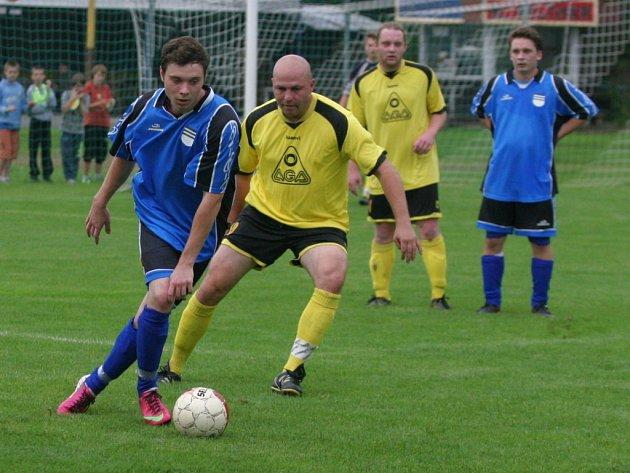 fotbal, IV. třída, OFS Zlín, Vizovice B (modří) - Vlachovice B