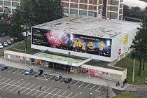 Velké kino ve Zlíně. Uzavření z důvodů havarijního stavu.