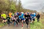 Běh na 2 míle ve Zlíně, duben 2019