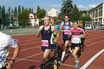 Běh olympijského dne ve Zlíně 20. června 2018