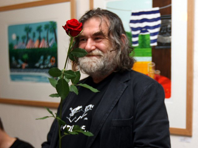 Malíř Tomáš Bím.