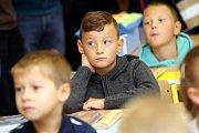 První školní den ve zlínské 1. ZŠ Emila Zátopka v 1.A