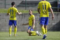 Zkušený útočník Lukáš Železník se proti Trnavě prosadil hned ve dvanácté minutě. Fotbalisté Zlína nakonec v úvodním přípravném zápase zvítězili 2:1.