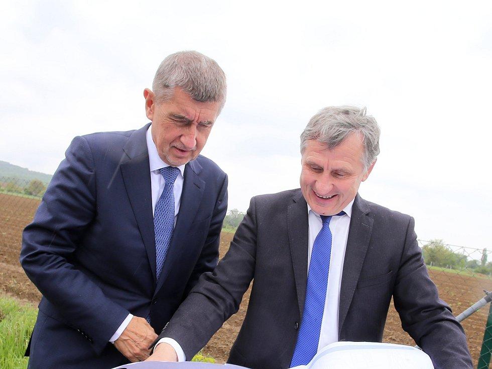 Jiří Čunek a  Andrej Babiš. Ilustrační foto
