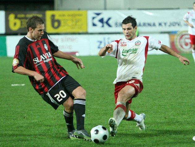 Fotbalisté zlínské Tescomy udolali Viktorii Žižkov.