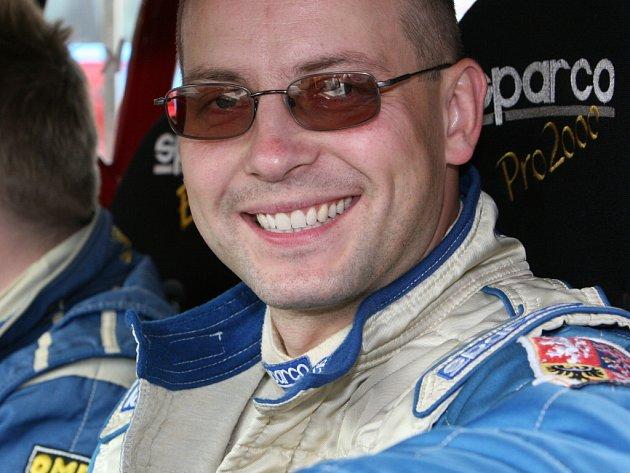 Vždy dobře naladěný pilot Vladimír Barvík.