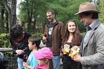 Kimberly a Dextera v zoo pokřtil Saša Rašilov