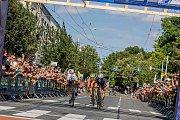 Cyklistika nejvyšší úrovně se do Zlína vrátila po dlouhých pětatřiceti letech. Čtyři víkendové závody na náročném okruhu přinesly fanouškům velký sportovní zážitek. Foto: Jiří Zaňát