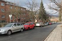 Díly IV Zlín - tady se bude opravovat silnice