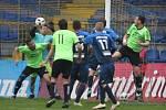 Fotbalisté Provodova (v modrém, při vyhlášení v červeném) pošesté ve své historii ve středu 3. května ovládli krajský pohár, když ve finále na zlínské Letné porazili účastníka I. A třídy Koryčany 2:1 dvěma góly Ulmana.