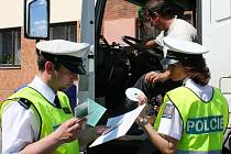 Policejní kontrola v Nerudově ulici, Otrokovice