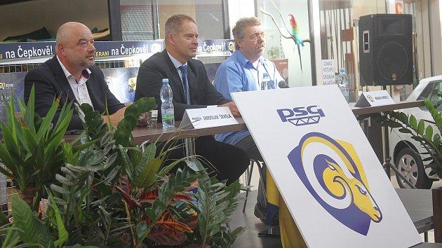 Představení hokejového sponzora PSG Zlín.