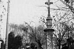Starý hřbitov ve Zlíně.Dušičky v roce 1941