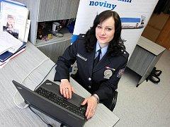 Policejní preventistka Lucie Javoříková