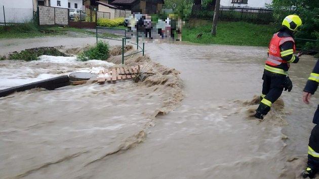 Následky bouřky ve Zlínském kraji, 13.6.2020