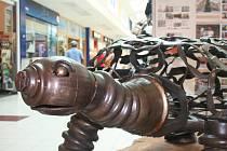 Kovozoo v malenovickém Centru Zlín