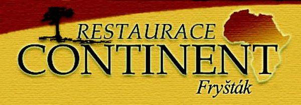 Logo restaurace Continent ve Fryštáku.