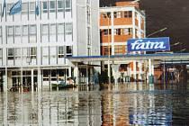 Napajedla - povodně v roce 1997
