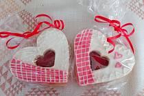 Od dcery jsme dostali s manželem i valentýnské sladkosti.