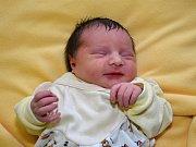 Anna Dumitrescu ze Zlína se narodila 29.2.2012 (48 cm, 3090 g)