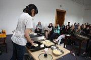 Festival Culturea 2015 na zámku ve Zlíně.  Live Cooking